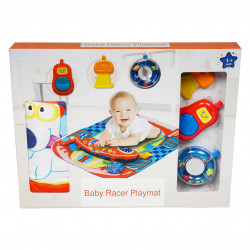 Baby Racer Playmat with Hanging Toy