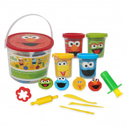 Sesame Street 20 Piece Activity Backpack Set