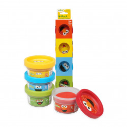 Sesame Street 4 Pack Dough Set- 1oz