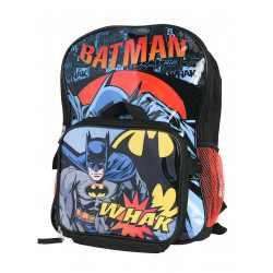 Batman Backpack with Lunch Bag, 41 cm