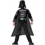Star Wars Darth Vader Boys Muscle Chest Shirt Kit, Black