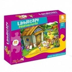 Landscape Educational Jigsaw Puzzle 45 Pieces