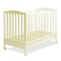 Italbaby Flash Ivory Wooden Cot, Beige