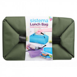 Sistema Bento Lunch Bag To Go - Military Green
