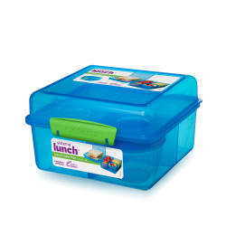 Sistema Lunch Cube Max With Yogurt 2L, Blue
