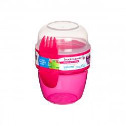 Sistema Snack Capsule to go, 515 ml, Pink
