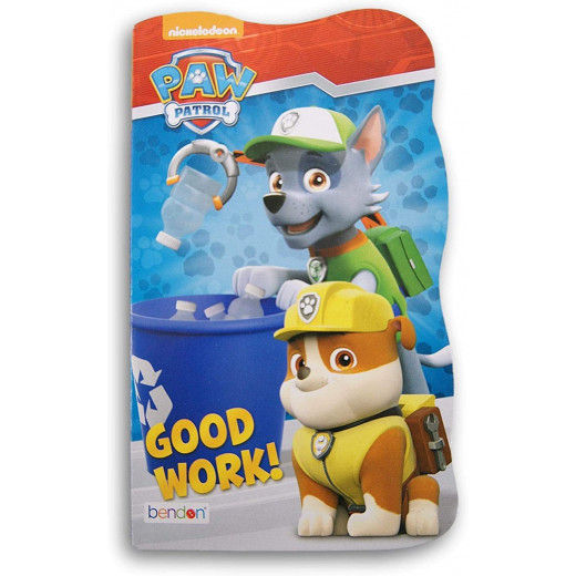 Early Reading Paw Patrol Board Book, Good Work