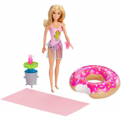 Barbie Pool Party Doll and Playset