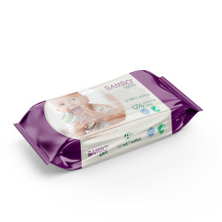 Bambo Nature Wet Wipes, 80