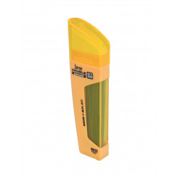 SERVE Double Erase Lead Tube 0.5 mm and Eraser (Yellow)