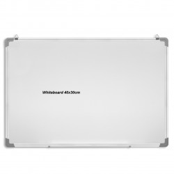 Double Sided Magnetic Whiteboard with Aluminium Frame 30x 40cm