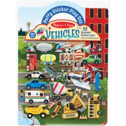 مجموعة ألعاب ملصقات بنمط المركبات من  ميليسا آند دو