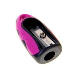 Maped Helix Tip Top Sharpener and Eraser, Pink