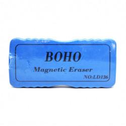 بوهو ممسحة السبورة المغناطيسية زرقاء ، صغيرة