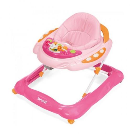 Brevi Baby Walker Skylab, Pink