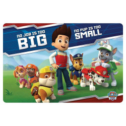 Zak Designs Paw Patrol Boy Kid's Placemat