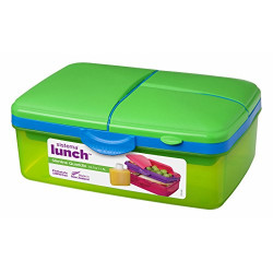 Sistema Lunch Slimline Quaddie, 1.5 L - Green