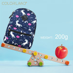 Colorland the Kids Backpack, Navy Sky Unicorn