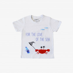 The Orenda Tribe The Crab Kids Coloring T-shirt, 10 years
