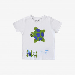 The Orenda Tribe The Turtle Kids Coloring T-shirt, 6 years