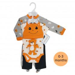 5 Piece Halloween Layette Set, 0-3 months