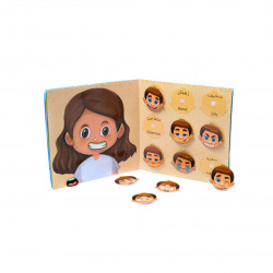 Babbelyo Interactive Educational Book that Develop Imagination and Stimulate Creativity, 2-4 years old