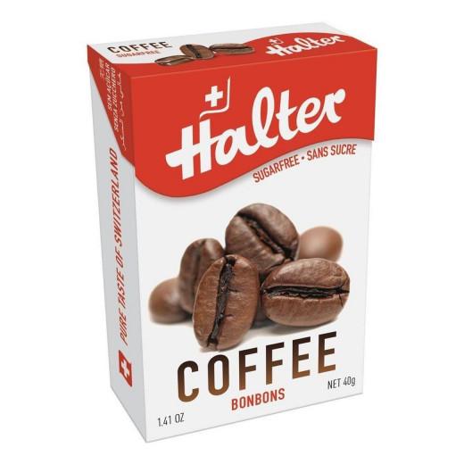 Halter Coffee Sugarfree Bonbons 40g