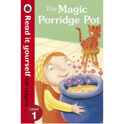 The Magic Porridge Pot - Read it yourself with Ladybird : Level 1 Hardcover, 32 Pages