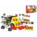Dolu Jumbo Truck With Blocks 40 PCS