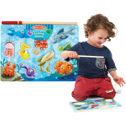 Melissa & Doug Fishing Magnetic Puzzle Game