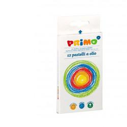 Primo 12-Colour Oil Pastel Multicolour