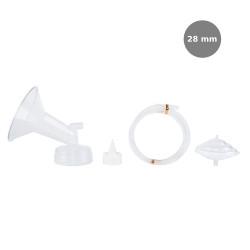 Spectra Wide Breast Shield Set (28mm (L)) 4pc