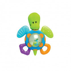 Nuby Belly Buddy Teether Toy, Turtle