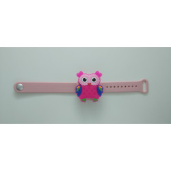 Hygiene Band For Children, Pink Owl