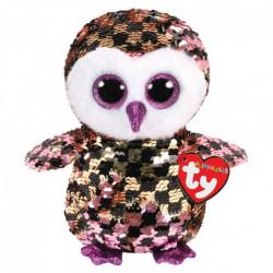 Ty Flippable Checks Owl