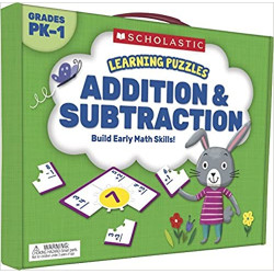 Scholastic Learning Puzzles: Addition & Subtraction