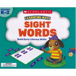 Scholastic Sight Words Learning Mats Build Early Literacy Skills!
