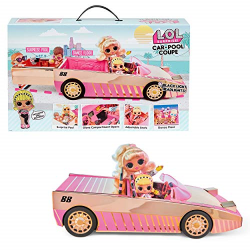 Car-pool Coupe With Doll Surprise Pool & Dance Floor