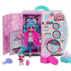L.O.L. Surprise! O.M.G. Winter Disco Cosmic Nova Fashion Doll & Sister