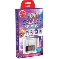 Scholastic Foil Galaxy Nails
