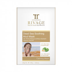Rivage Dead Sea Soothing Mud Mask - 25 g x 4