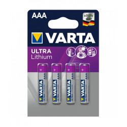 Varta 4 Batteries Aaa 1.5v Ultra Lithium