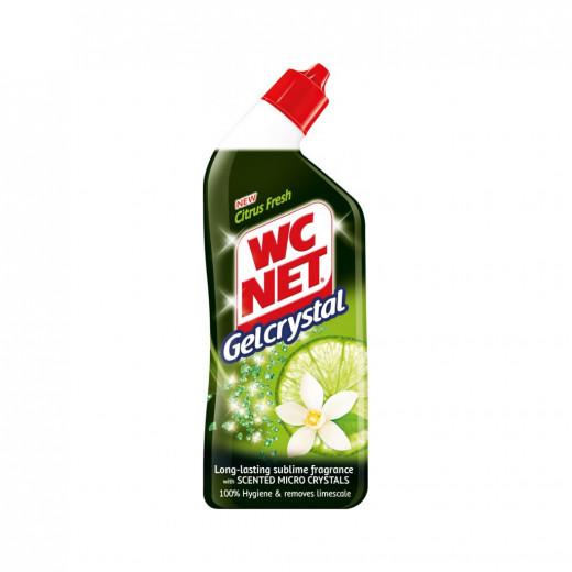 WC Net Toilet Cleaner Gel Crystal Green Citrus 750ml