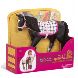 Our Generation: Black Velvet Foal - Posable Figure