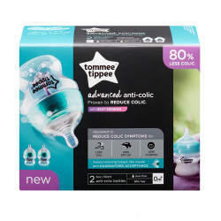 Tommee Tippee Advanced Comfort Bottles X2, 150 ml