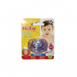 NUBY Classic Orthodontic Soother 0-6m - Purple
