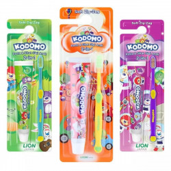 Kodomo Toothbrush Zigzag-2 In1, Assorted
