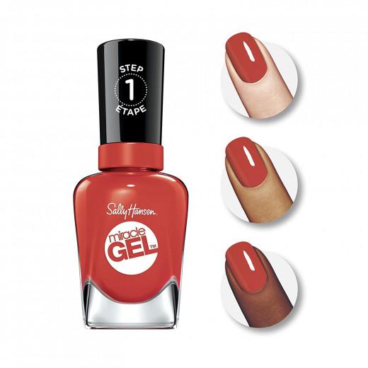 Sally Hansen -Miracle Gel -Redgy -0.5 -fl oz