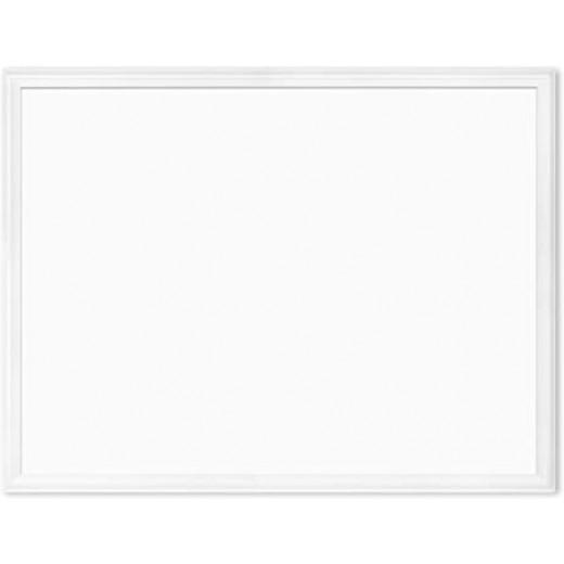 لوح مغناطيسي ، 30 × 40 بوصة ، إطار خشبي أبيض + 1 ممحاة مجانية من يو براند