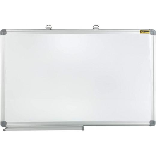 سبورة بيضاء مقاس 40 × 60 سم + ممحاة واحدة من ايدينا